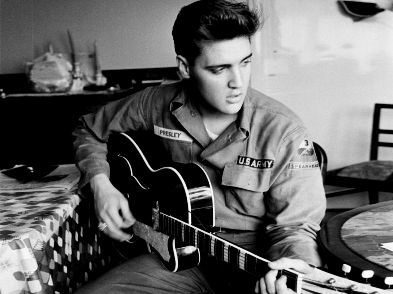 the king elvis presley