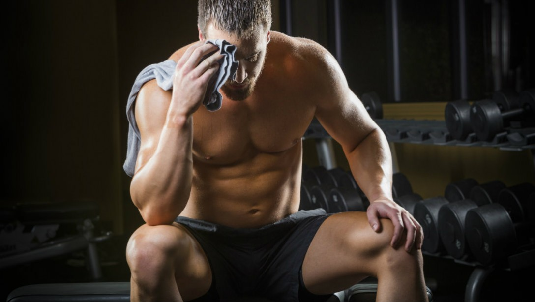 rest gym recovery muscle promo